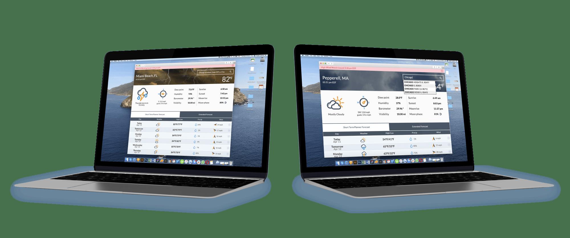 NOAA-Weather solution
