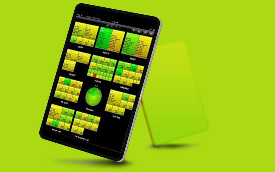 iPad Stock Portfolio Mgr