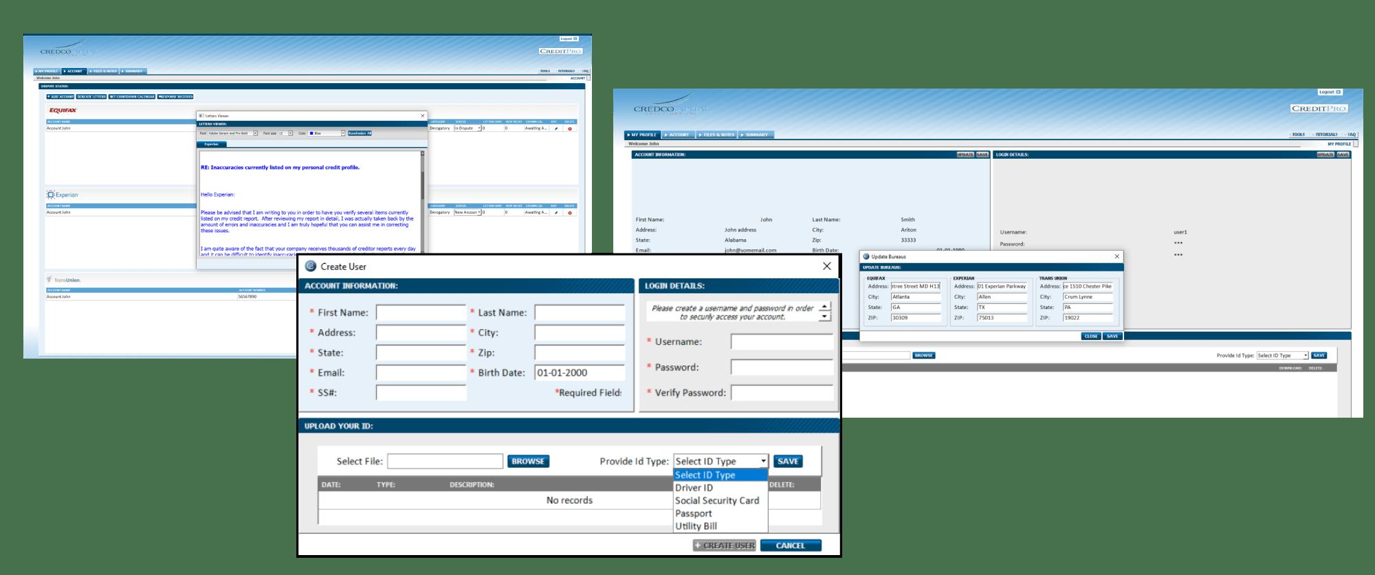 Credit-Repair-Application solution