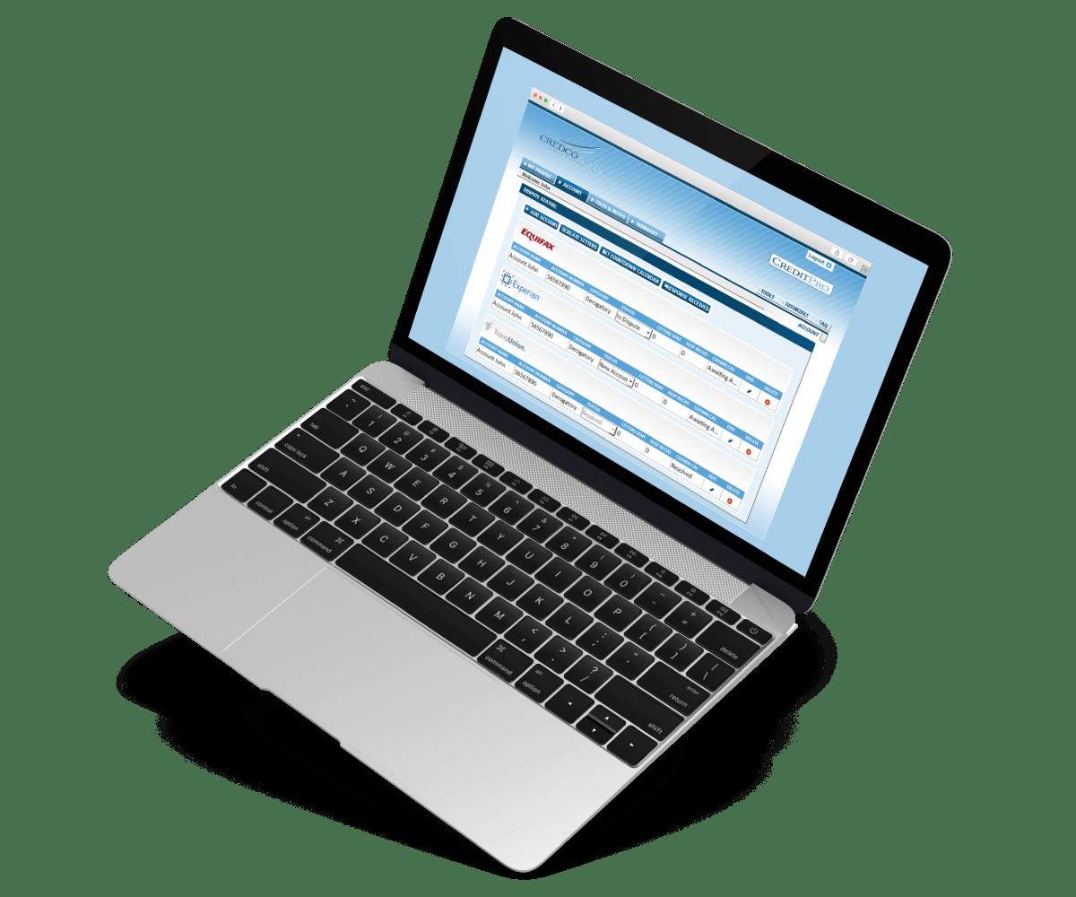 Credit-Repair-Application vision
