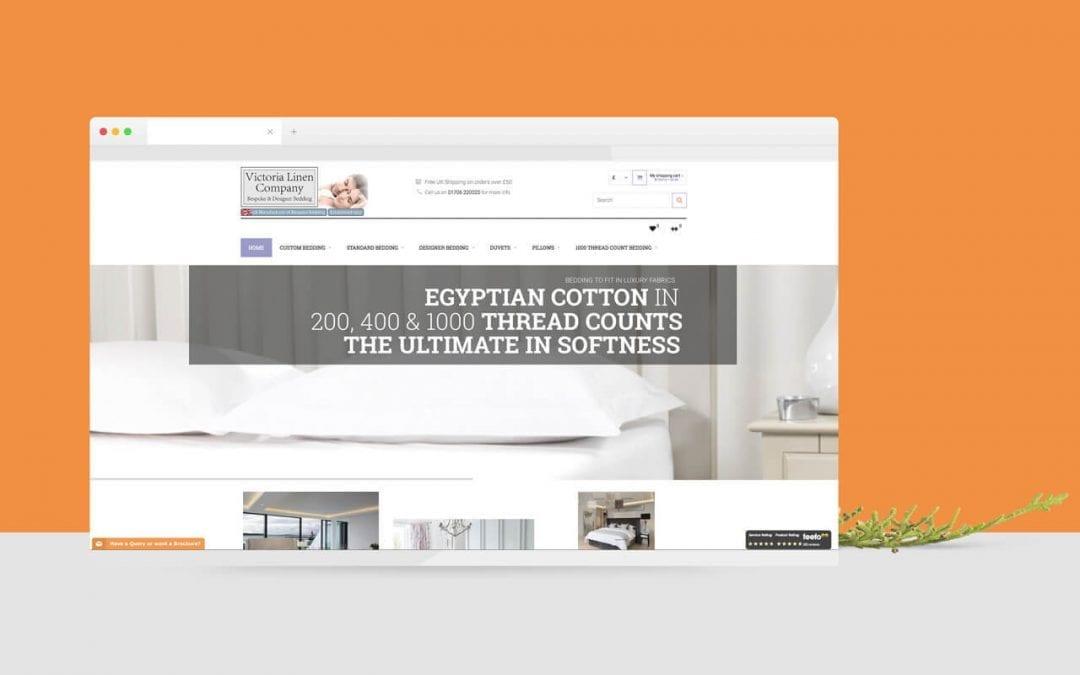 Victoria Linen Company Website