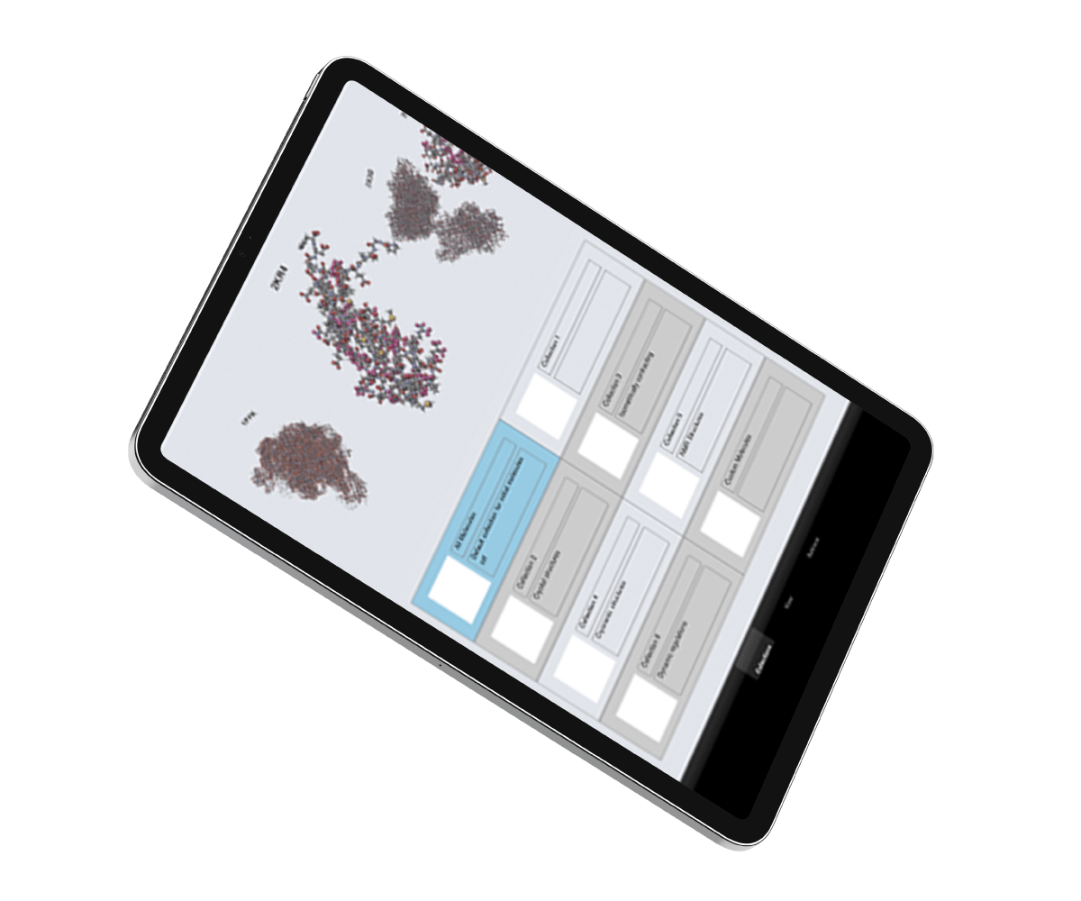 Molecular-iPad vision