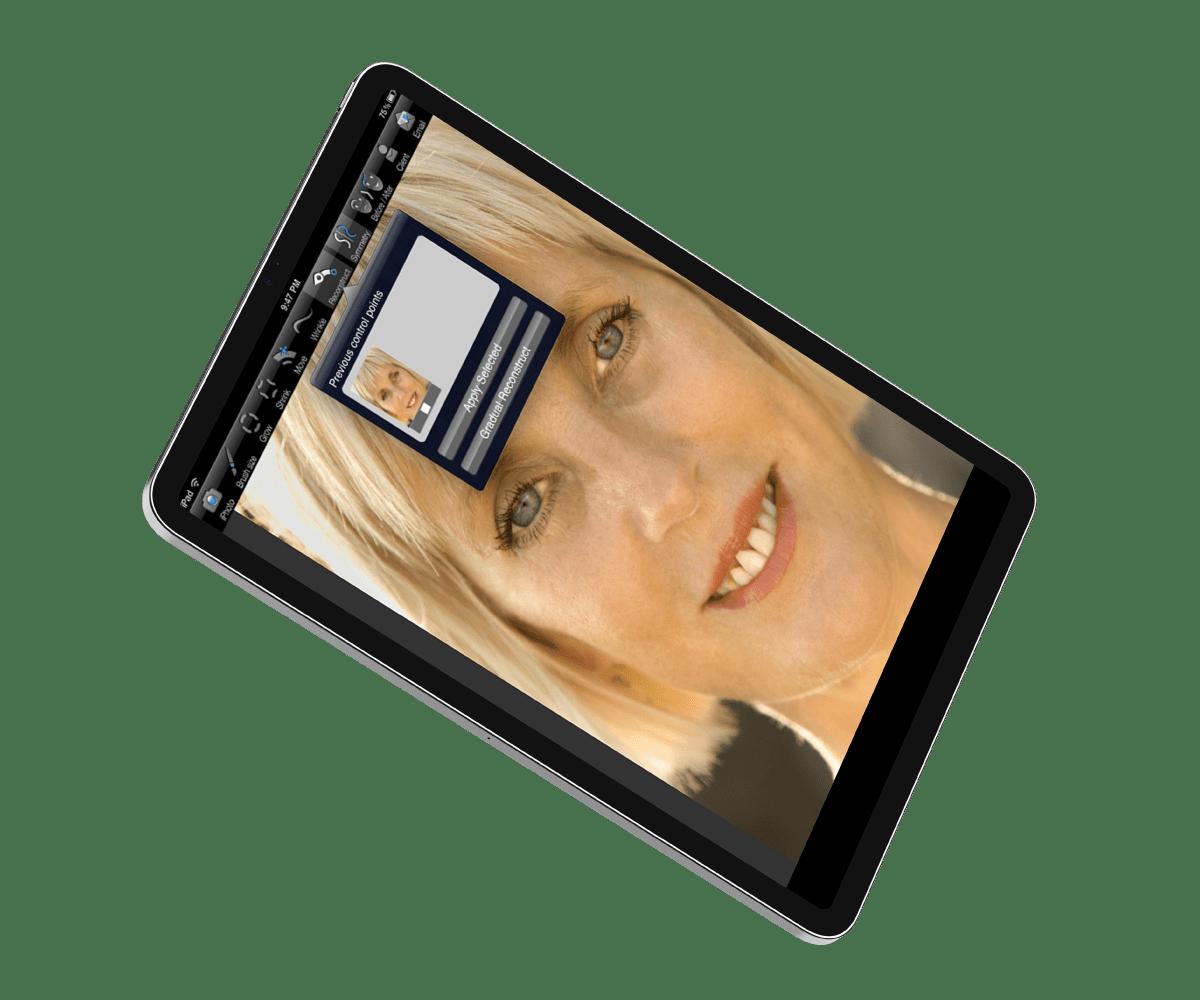 Plastic-Surgery-Visualization-Application vision