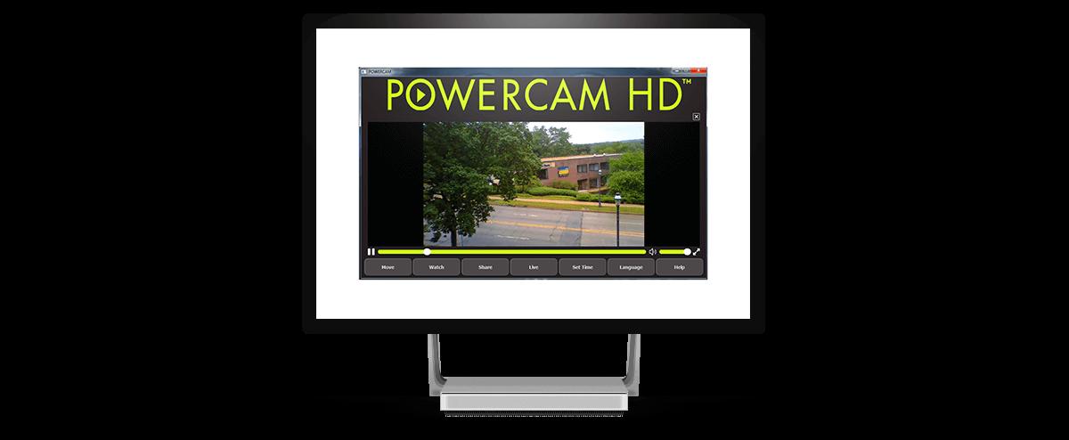 PowerCamHD main