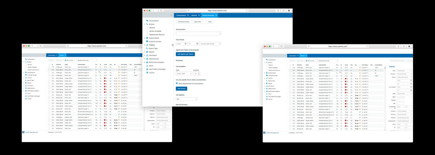 ScoreCard-Zoom-Quality-Management solution