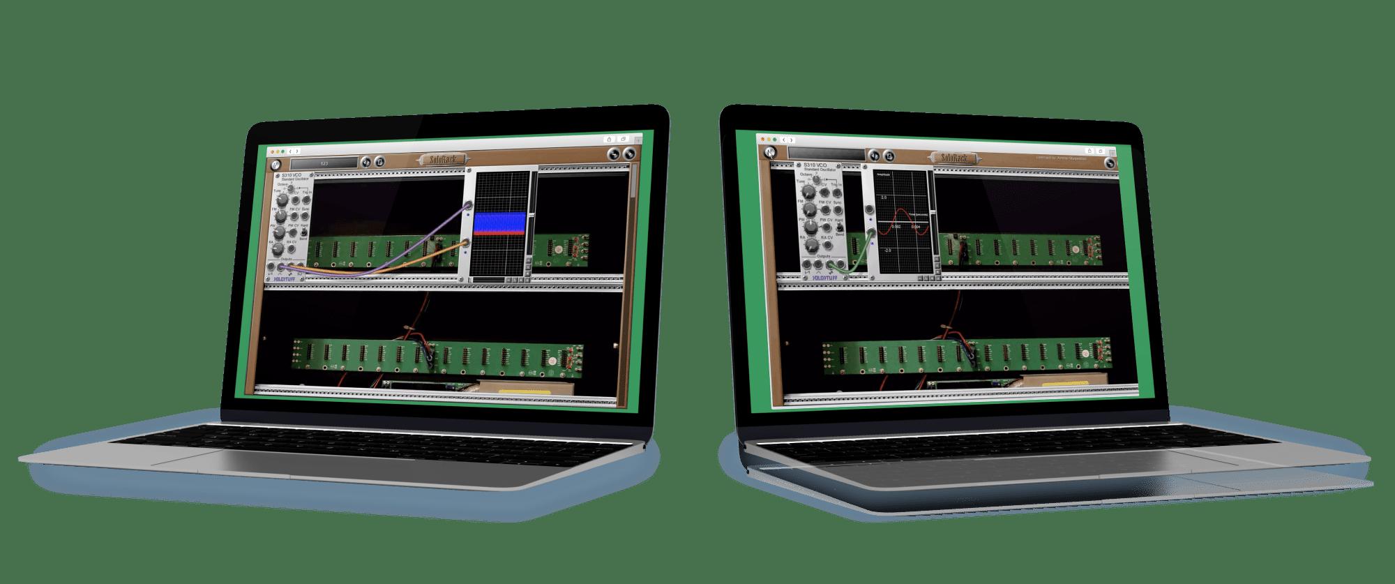 Solorack-Audio-Application solution