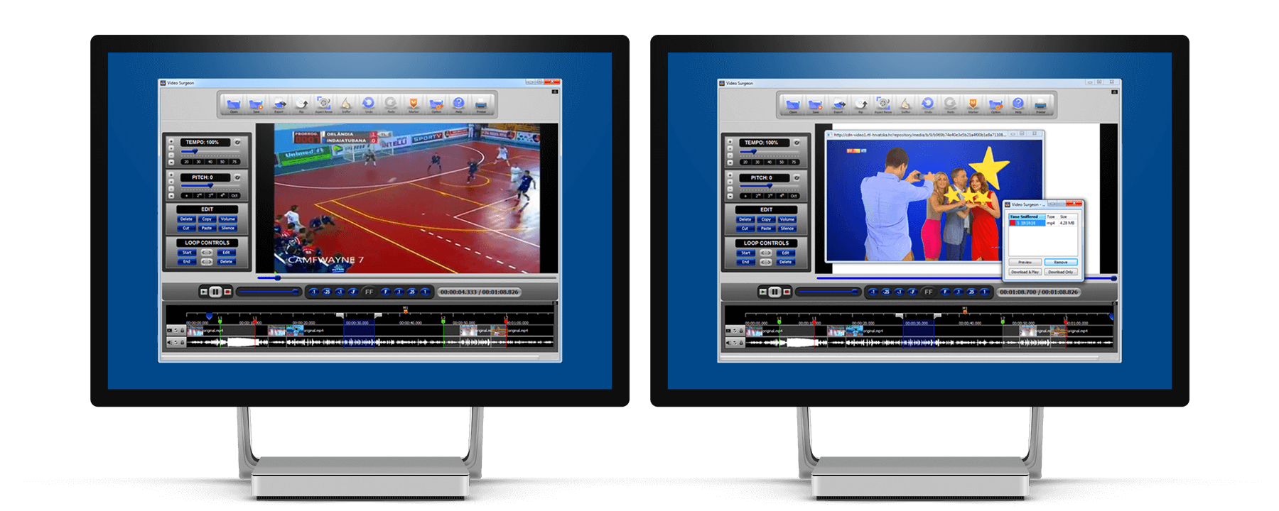 VideoSurgeon solution