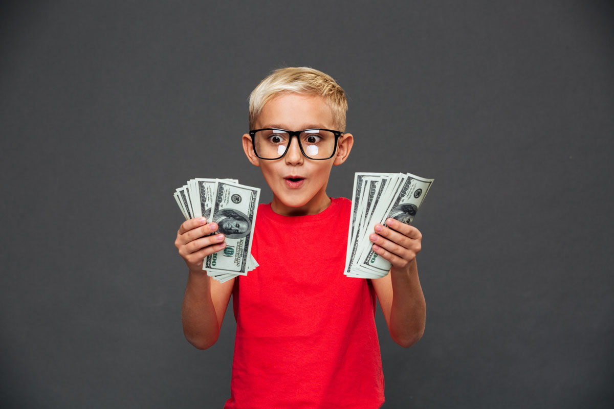 kids bitcoin money