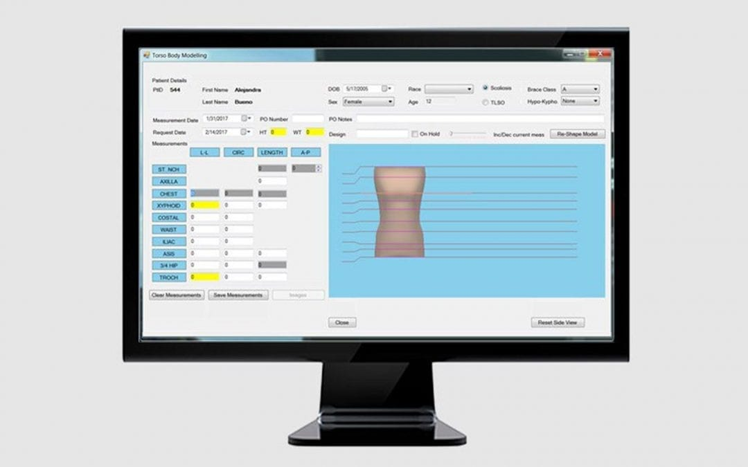 Torso Measurement Visualization System