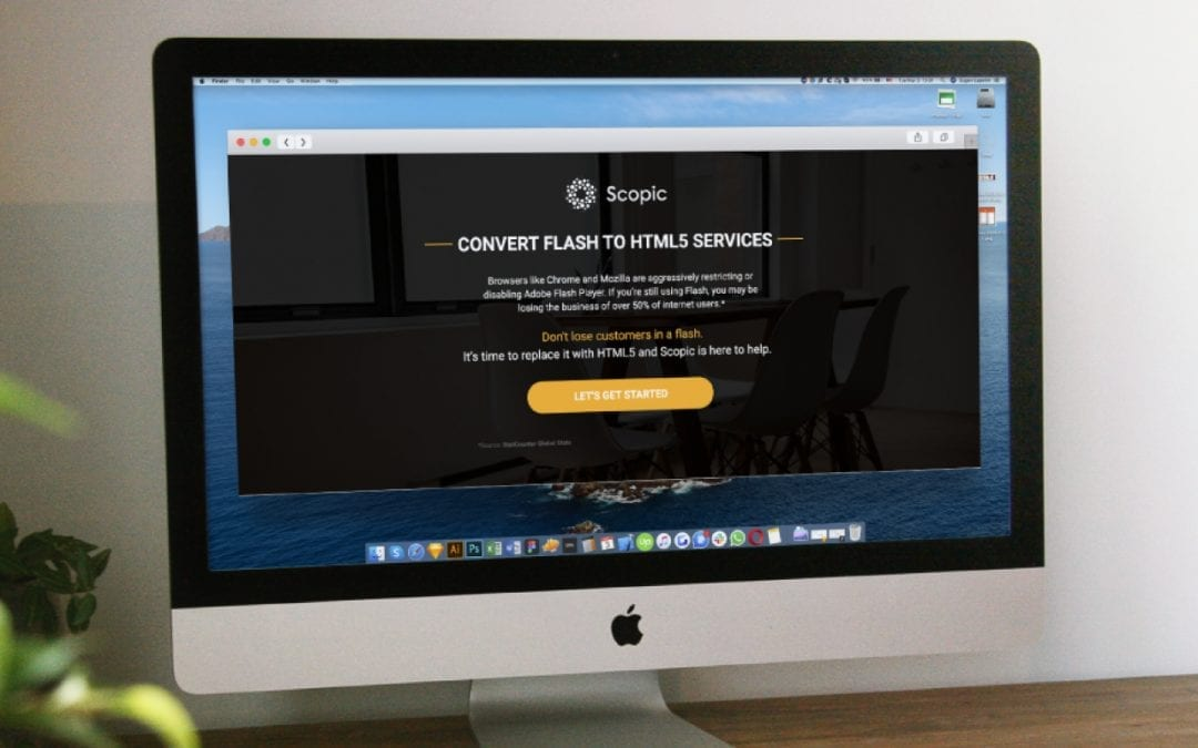 Convert Flash to HTML5 Landing Page