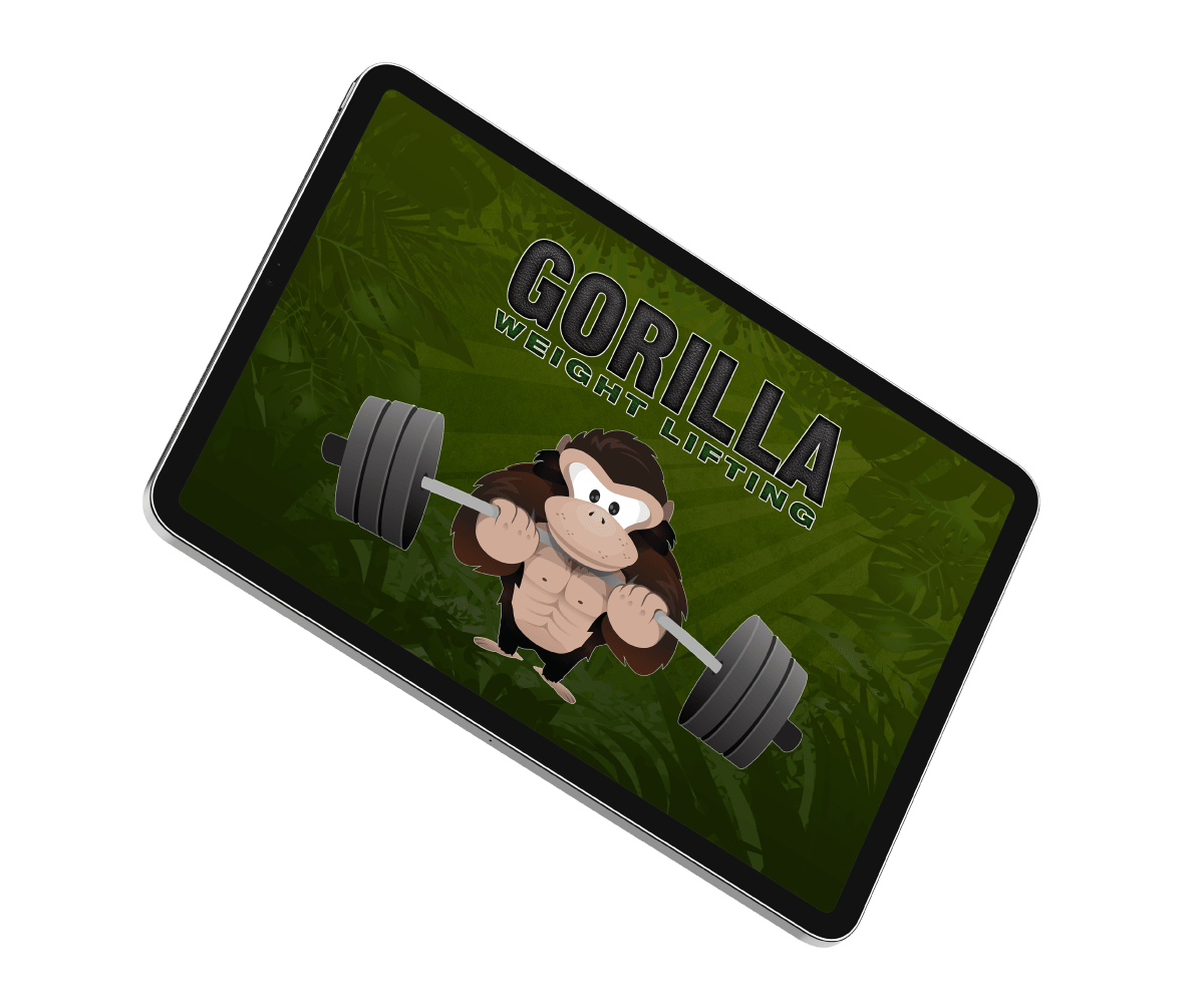 Gorilla-Weightlifting vision
