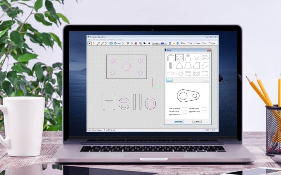 2D CAD Application