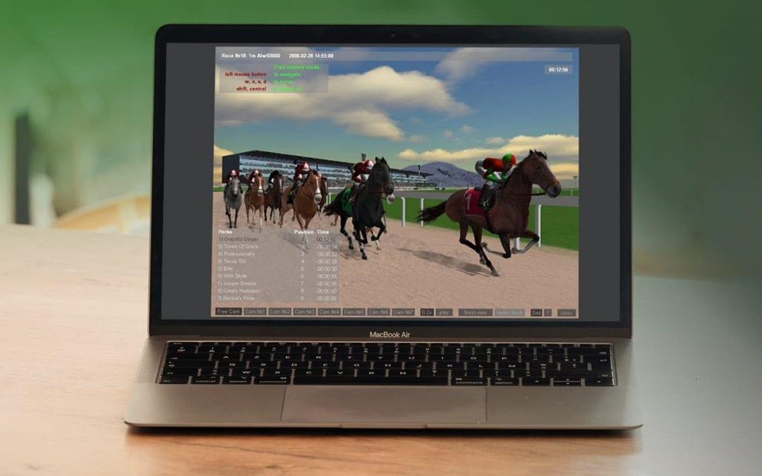 3D Horse Racing