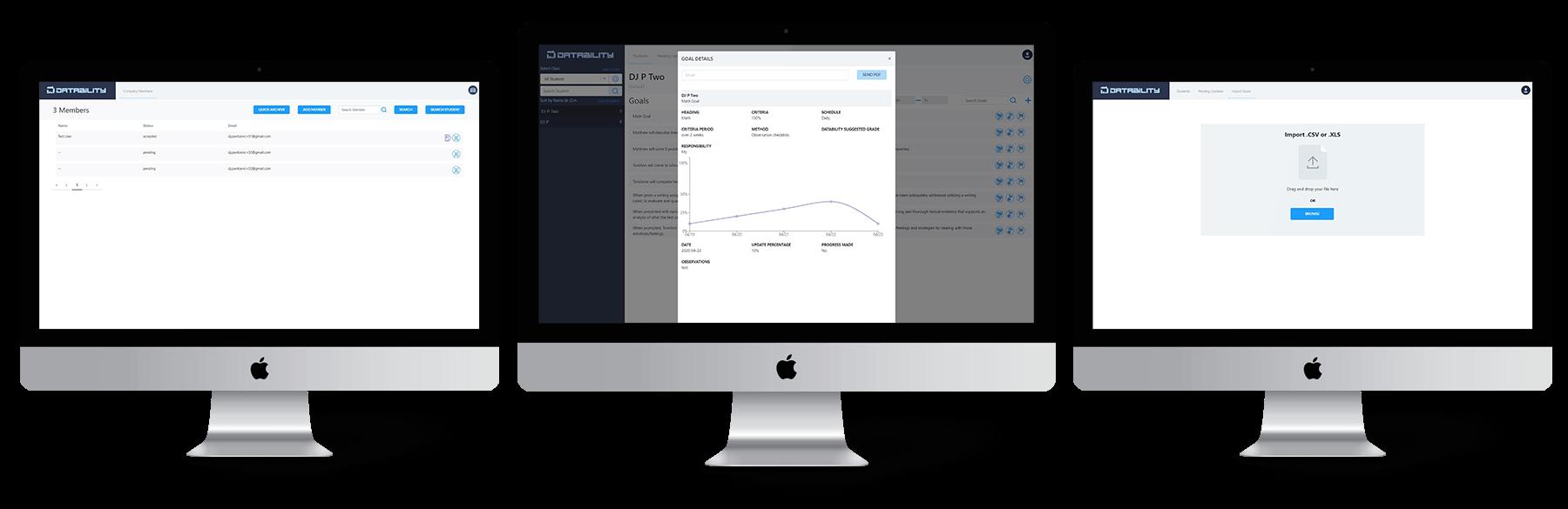 datability web app solution