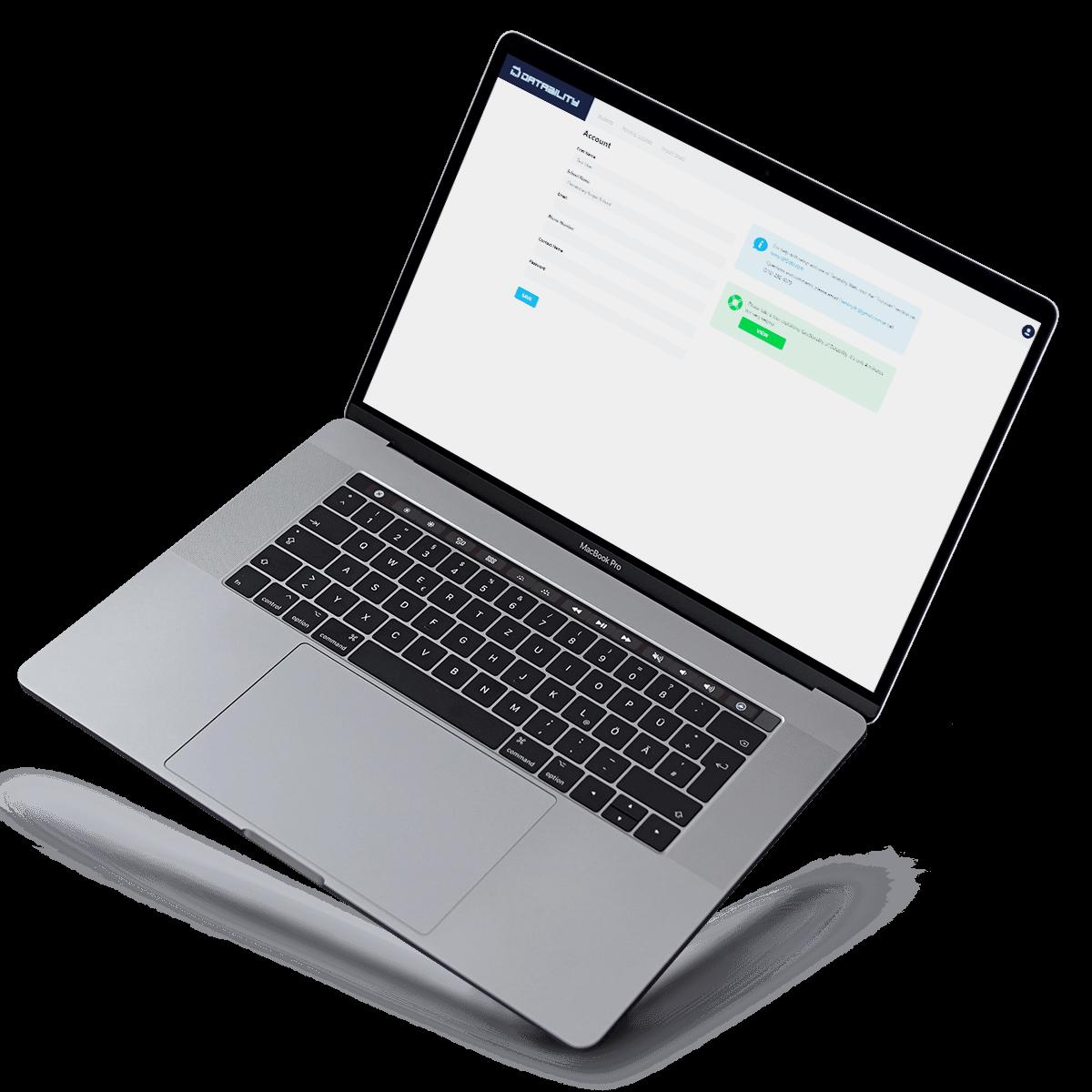 datability web app vision