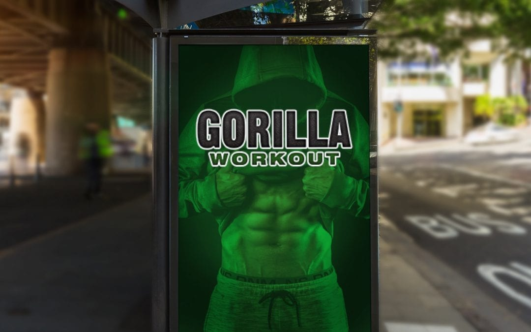 Gorilla Workout Logo Design