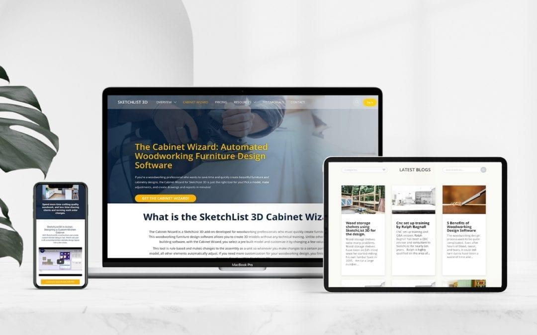 SketchList Web Design