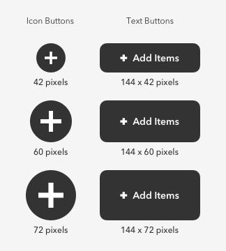 button sizes