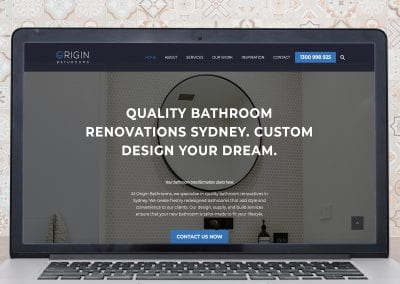 How the Need for SEO Services Turned into a Full Website Overhaul for a Bathroom Design Company