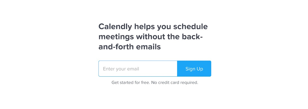 calendly product marketing examples