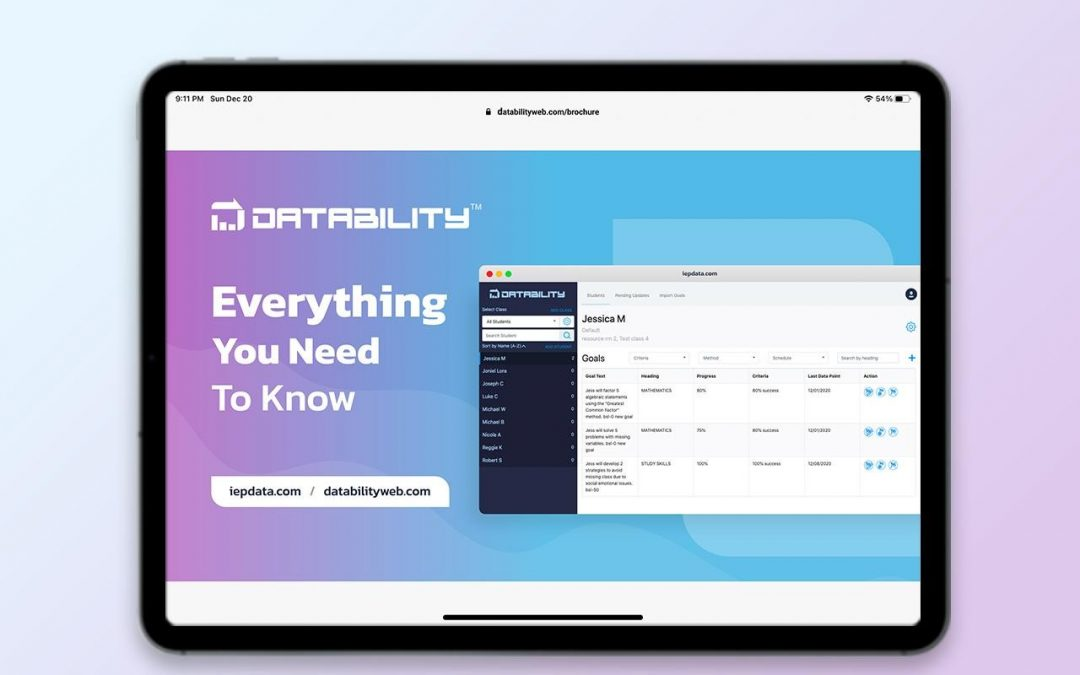 Datability Sales Brochure