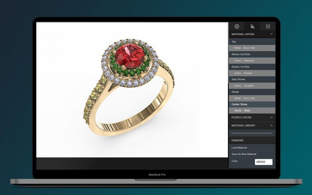 3D Jewelry App