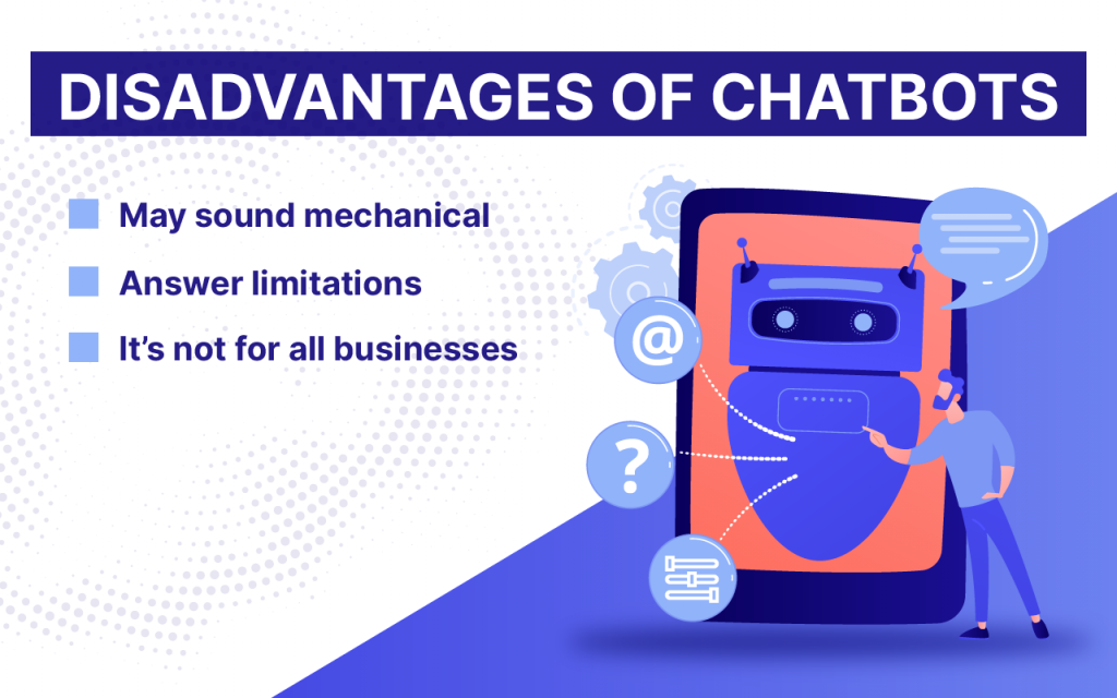 chatbot cons