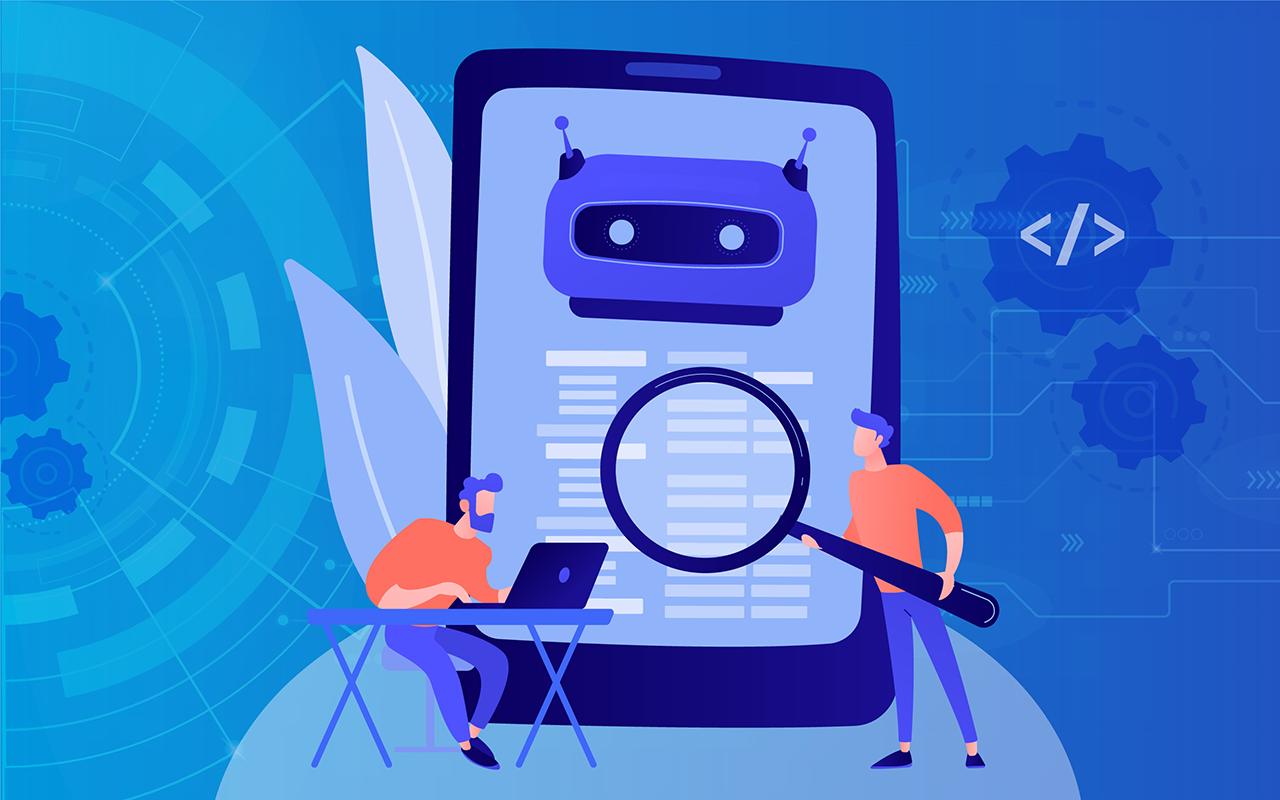 Illustration of a chatbot development framework